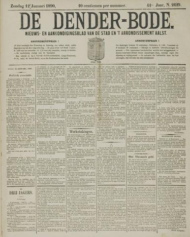 De Denderbode 1890-01-12