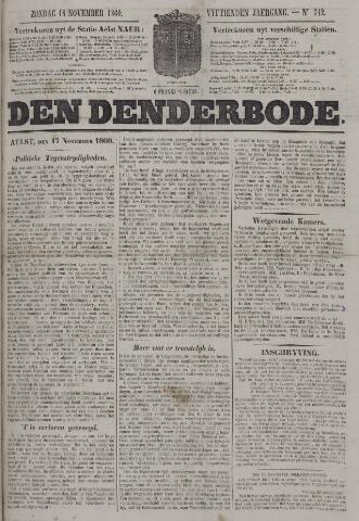 De Denderbode 1860-11-18