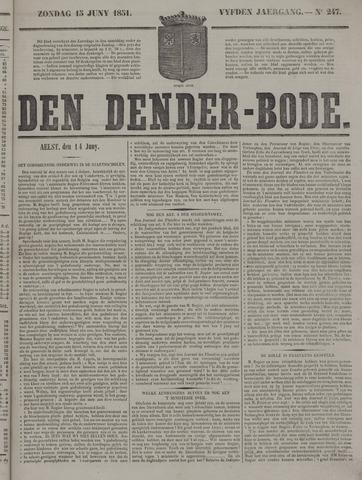 De Denderbode 1851-06-15