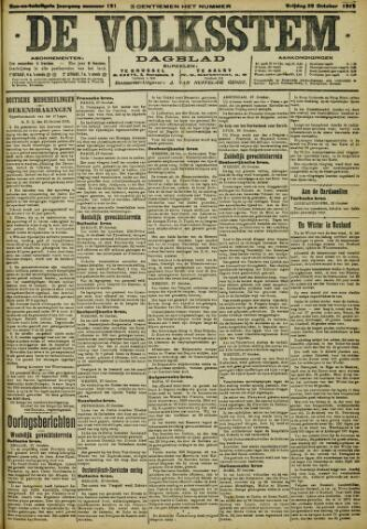 De Volksstem 1915-10-29