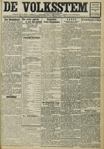 De Volksstem 1931-08-09