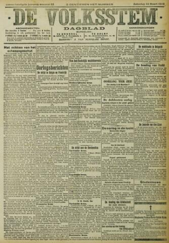 De Volksstem 1915-03-13