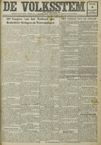 De Volksstem 1931-10-06