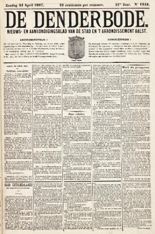 De Denderbode 1887-04-24