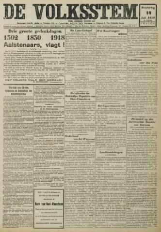 De Volksstem 1930-07-10