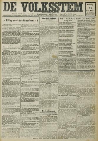 De Volksstem 1931-11-17