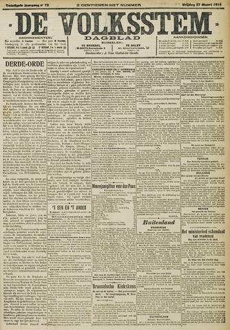 De Volksstem 1914-03-27