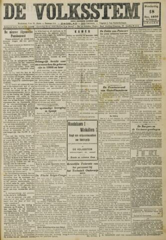 De Volksstem 1930-12-18