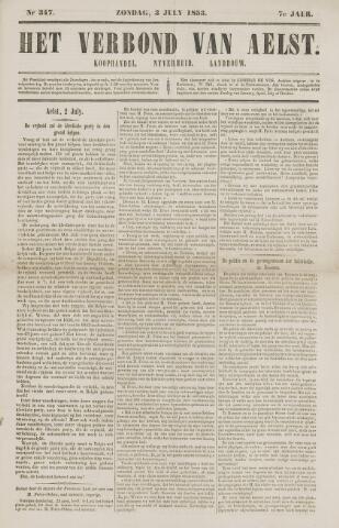 Het Verbond van Aelst 1853