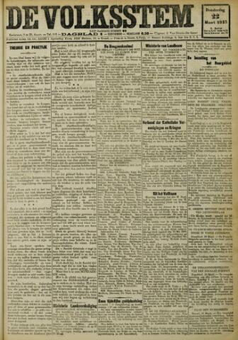 De Volksstem 1923-03-22