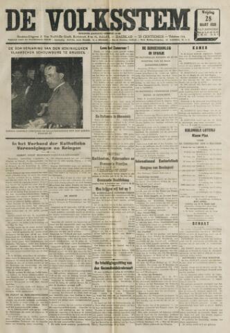 De Volksstem 1938-03-25