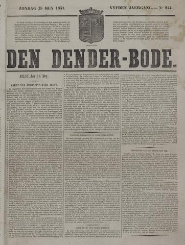 De Denderbode 1851-05-25