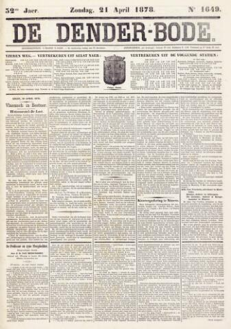 De Denderbode 1878-04-21