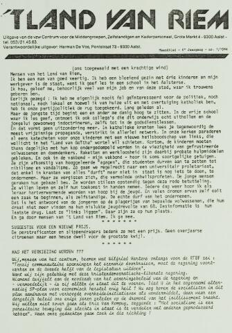 't Land van Riem 1984