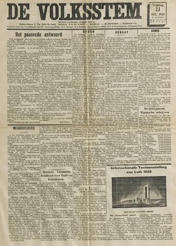 De Volksstem 1938-12-23