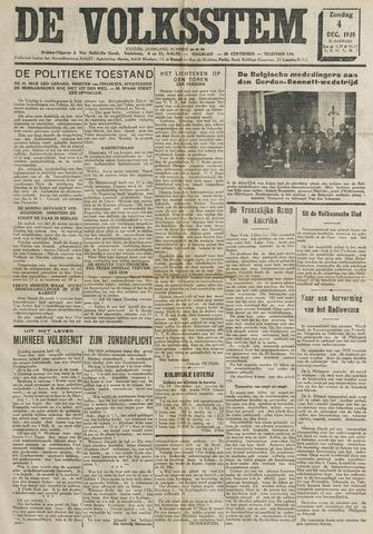 De Volksstem 1938-12-04