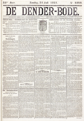 De Denderbode 1881-07-31