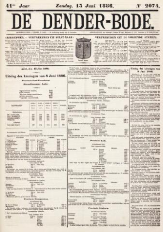 De Denderbode 1886-06-13