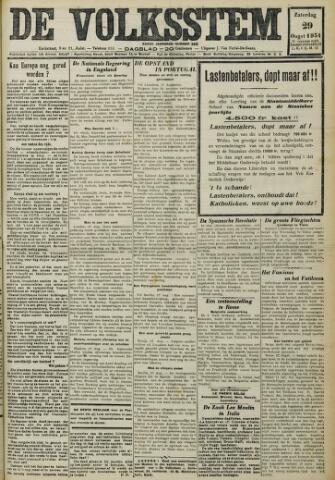 De Volksstem 1931-08-29
