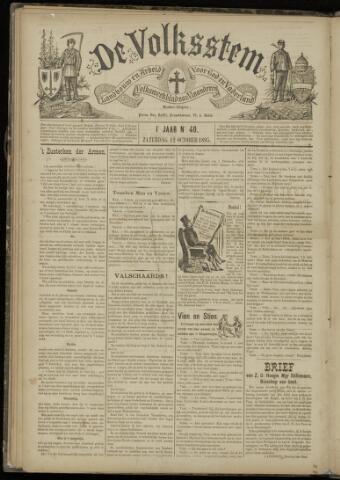 De Volksstem 1895-10-12
