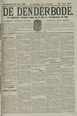 De Denderbode 1904-06-16