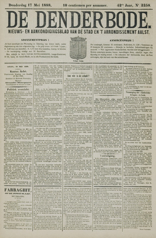 De Denderbode 1888-05-17