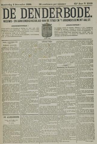 De Denderbode 1890-12-04