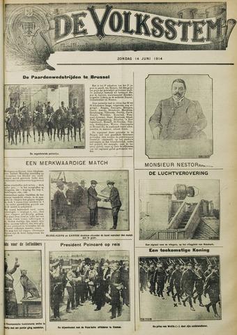 De Volksstem 1914-06-14