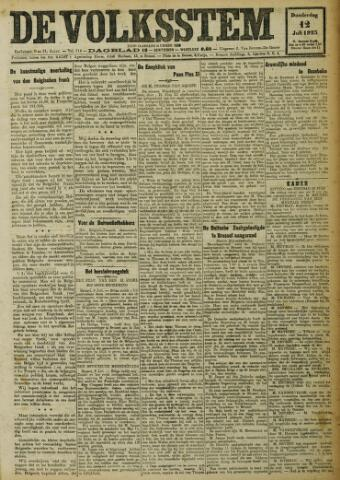 De Volksstem 1923-07-12