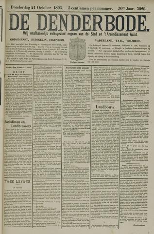 De Denderbode 1895-10-24