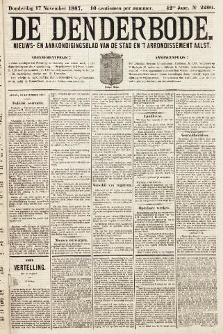 De Denderbode 1887-11-17