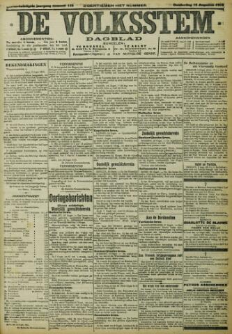 De Volksstem 1915-08-12