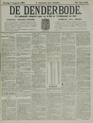 De Denderbode 1909-08-01