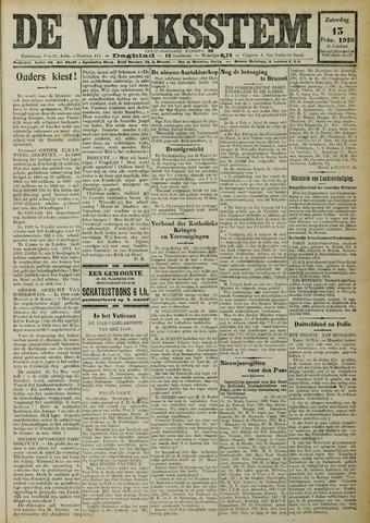 De Volksstem 1926-02-13