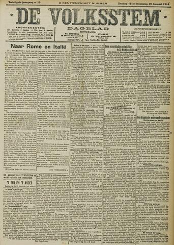 De Volksstem 1914-01-18