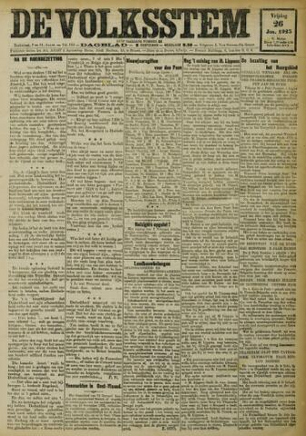 De Volksstem 1923-01-26