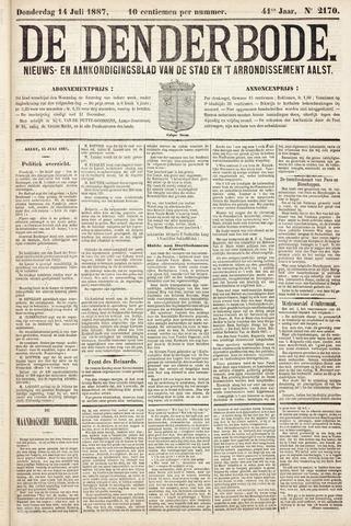De Denderbode 1887-07-14