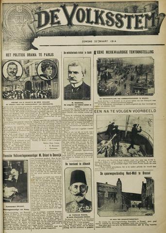 De Volksstem 1914-03-22