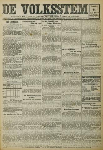 De Volksstem 1930-01-11