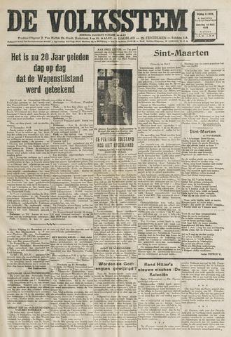 De Volksstem 1938-11-11