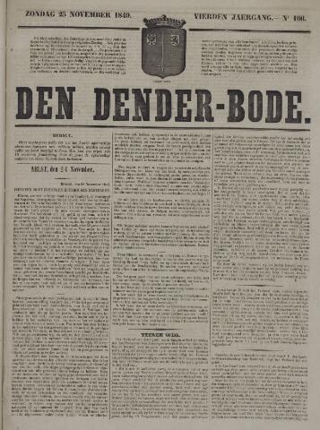 De Denderbode 1849-11-25