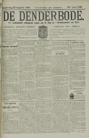 De Denderbode 1904-08-25