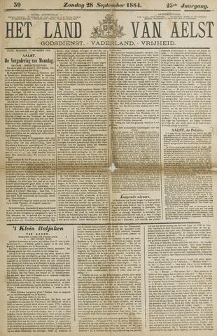 Het Land van Aelst 1884-09-28