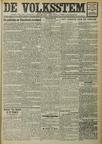 De Volksstem 1932-02-21