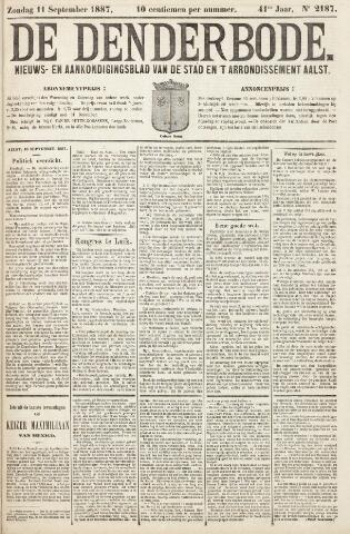 De Denderbode 1887-09-11