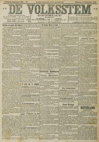 De Volksstem 1910-09-13
