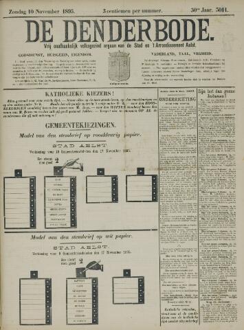 De Denderbode 1895-11-10