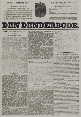 De Denderbode 1853-11-13