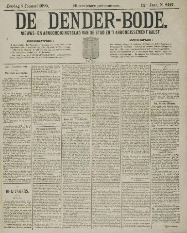 De Denderbode 1890-01-05