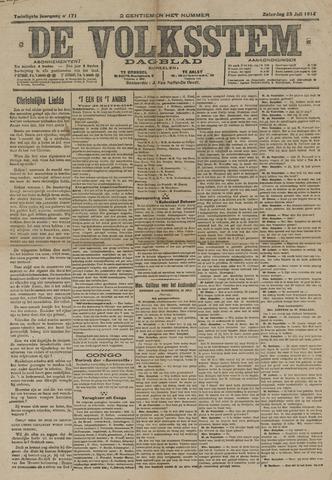 De Volksstem 1914-07-25